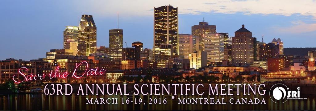 SRI: 63rd Annual Scientific Meeting